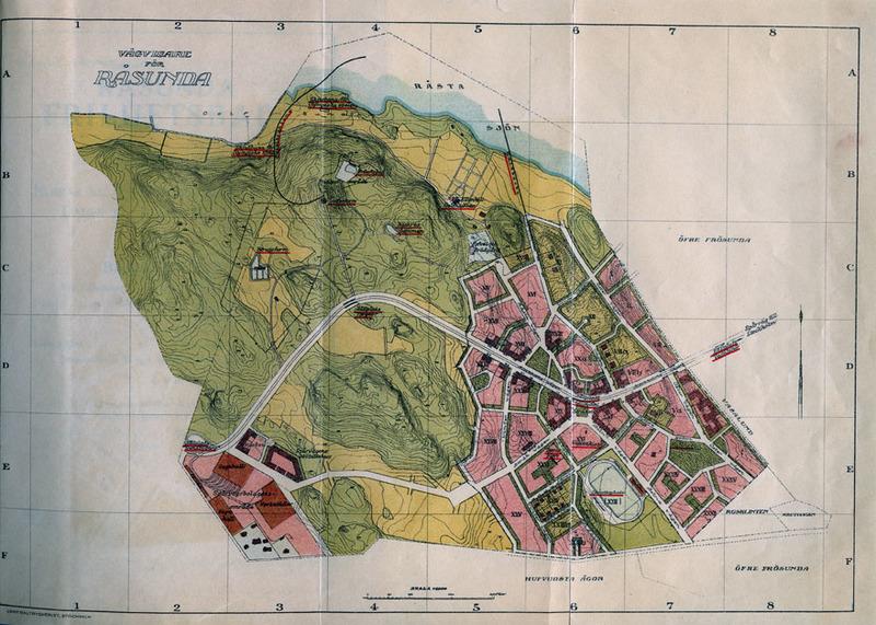 Solna Stads Bildarkiv Karta